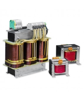Galvanic isolation transformer